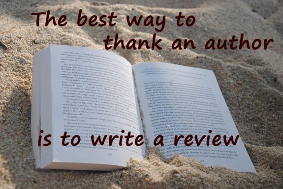 best way to thank an author